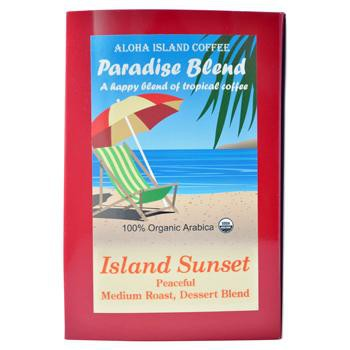 Aloha Island Sunset Tropical Medium Roast Coffee Pods 36ct