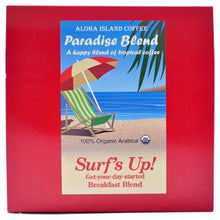 Aloha Island Surf's Up Breakfast Blend Coffee Pods 24ct Side