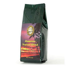 Aloha Island Hazelnut Paradise Flavored Coffee Beans 8oz Bag