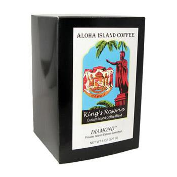 Aloha Island King's Reserve Diamond Coffee Pods 18ct