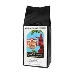 Aloha Island King's Reserve Diamond Ground Coffee 8oz Bag