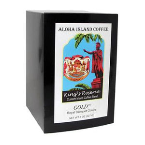 Aloha Island King's Reserve Gold Coffee Pods 36ct