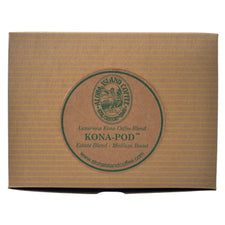 Aloha Island Estate Blend Kona Medium Roast Coffee Pods 48ct