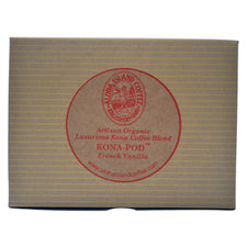 Aloha Island 100% Pure Estate French Vanilla Kona Coffee Pods 18ct
