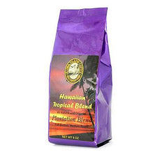 Aloha Island Plantation Blend Medium Roast Ground Coffee 8oz Bag