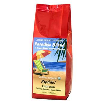 Riptide Espresso Roast Ground Coffee