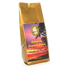 Aloha Island Southern Pecan Flavored Coffee Beans 8oz Bag