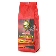 Aloha Island Vanilla Dream Flavored Coffee Beans 8oz Bag