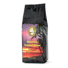 Aloha Island Volcano Dark Roast Ground Coffee 8oz Bag
