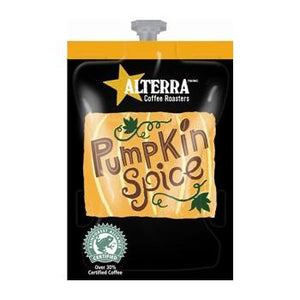 Alterra Coffee Pumpkin Spice Fresh Pack Case 80ct