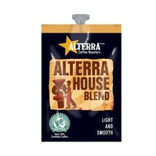 Alterra House Blend Coffee Fresh Packs 5 Rails 100 Ct