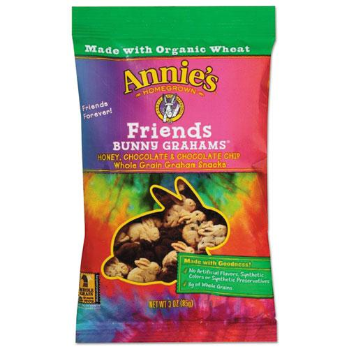 Annie's Homegrown Bunny Grahams Friends 3oz Bag 12ct