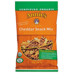 Annie's Homegrown Organic Cheddar Snack Mix 2.5 oz Bag 12ct