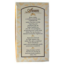 Ashby's Afternoon Tea 25ct Box Side Left