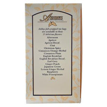 Ashby's Afternoon Tea 25ct Box Side Right