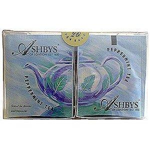 Ashby's Caffeine Free Peppermint Herbal Tea 25ct