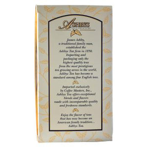 Ashby's English Breakfast Tea 25ct Box Side Left