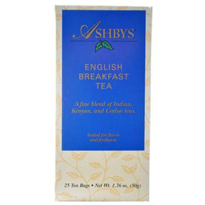 Ashby's English Breakfast Tea 25ct Box