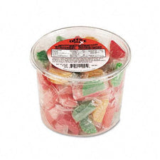 Assorted Fruit Slices Candy 2LB Tub