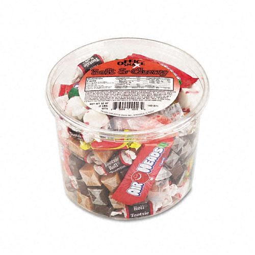 Assorted Soft & Chewy Candy Mix 2lb Tub