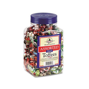Assorted Toffee Flavored Candy 2.75lb Tub