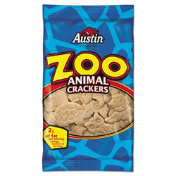 Austin Zoo Animal Crackers Original 2oz Pack 80ct Carton