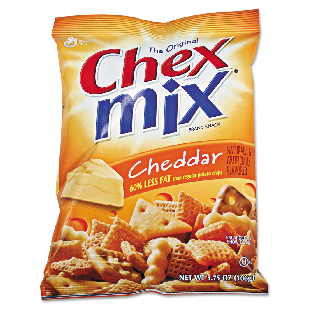 Chex Mix Cheddar Flavor Trail Mix 3.75oz Bag 8ct