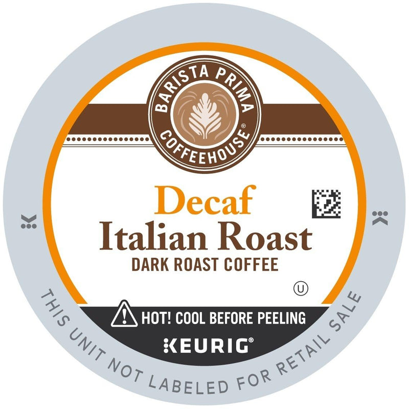 Barista Prima Coffeehouse Decaf Italian Roast K-Cups 24ct