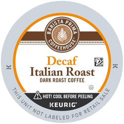 Barista Prima Coffeehouse Decaf Italian Roast K-Cups 96ct