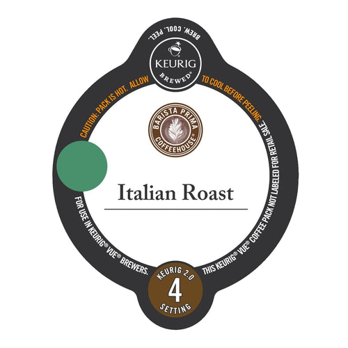 Barista Prima Coffeehouse Italian Roast Vue Packs 12ct