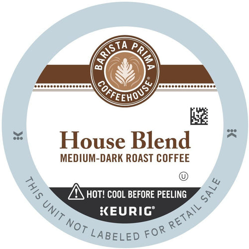Barista Prima House Blend Coffee K-cup Pods 96ct