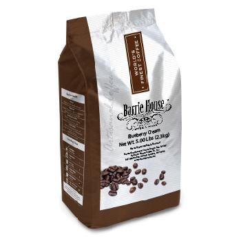 Barrie House Blueberry Cream Coffee Beans 3 5lb Bags