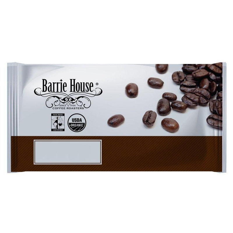 Barrie House Fair Trade Organic House Blend Ground Coffee 24 2.5 oz Bags