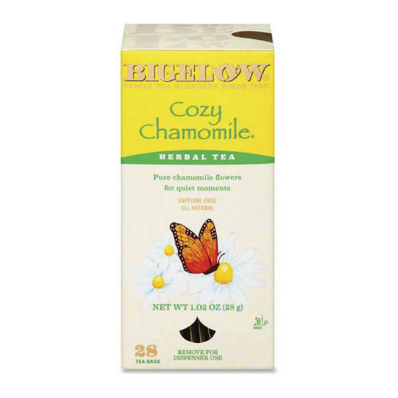 Bigelow's Cozy Chamomile Herbal Tea Caffeine Free 28ct
