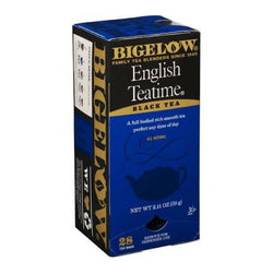 Bigelow's English Teatime Tea 28ct Box