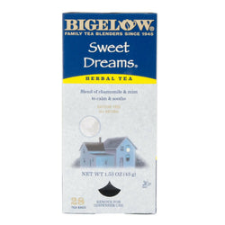 Bigelow's Sweet Dreams Herbal Caffeine Free Tea 28ct