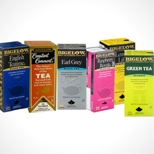 Bigelow's Tea Variety Pack 6 Flavors 168ct Box