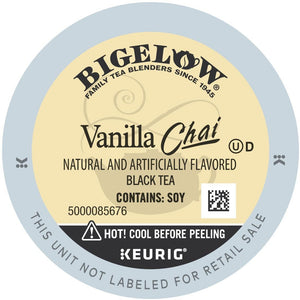 Bigelow Vanilla Chai Tea K-Cup® Pods 96ct