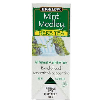 Bigelow's Mint Medley Herbal Caffeine Free Tea 28ct