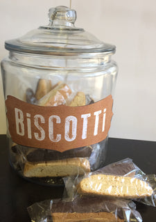 New York Coffee Chocolate Dipped Almond Flavored Biscotti 10ct