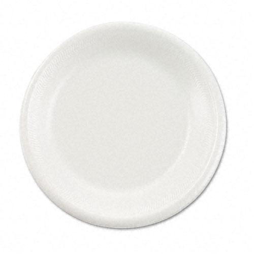 Boardwalk 6 Inch White Non-Laminated Styrofoam Plates 1000ct