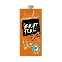 Bright Tea Co Chai Spice Tea Fresh Packs 100ct 5 Rails