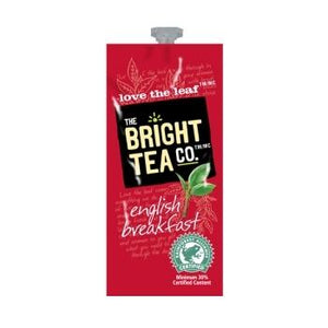 Bright Tea Co English Breakfast Tea Fresh Packs 100ct 5 Rails