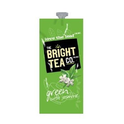 Bright Tea Co Green With Jasmine Tea Fresh Packs 100ct 5 Rails
