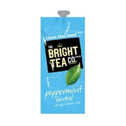 Bright Tea Co Peppermint Herbal Tea Fresh Packs 100ct 5 Rails
