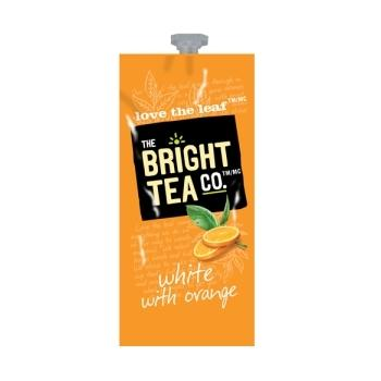 Bright Tea Co White With Orange Tea Fresh Packs 100ct 5 Rails