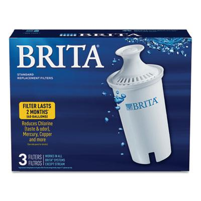 Brita Pitcher Replacement Water Filters 3ct Box