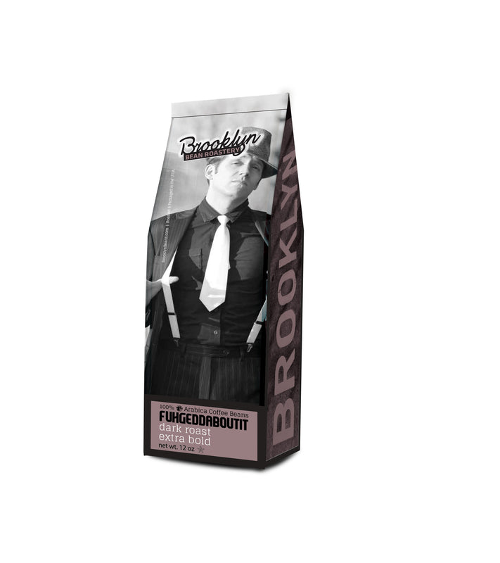 Brooklyn Bean Roastery Fuhgeddaboutit Coffee Ground 12oz Bag