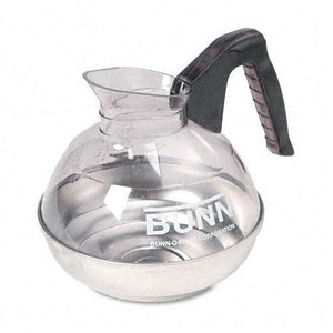 Bunn 12-Cup Decanter with Black Handle for Bunn Pour O Matic Coffee Machines