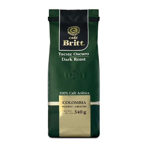 Cafe Britt Costa Rican Dark Roast Gourmet Coffee 12oz Bag